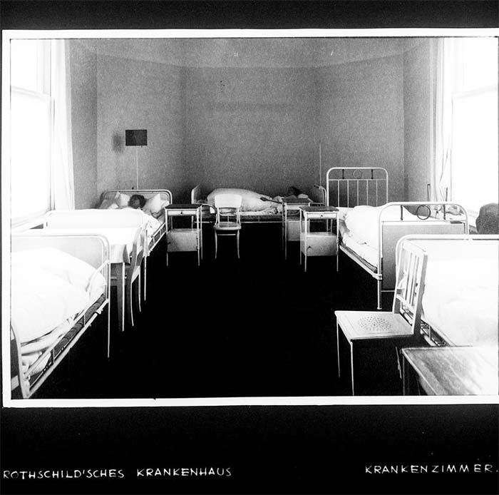Rothschild'sches Hospital - Krankenzimmer / Rothschild'sches Hospital, Krankenzimmer, um 1932